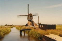 Oude situatie noodgemaal bij Cabauwse molen ca 1965