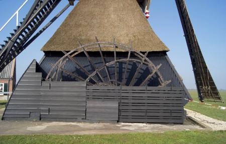Scheprad Middelste molen, Cabauw
